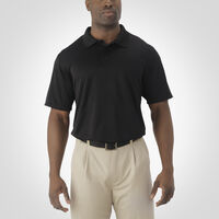 Men's Dri-Power® Essential Short Sleeve Polo BLACK