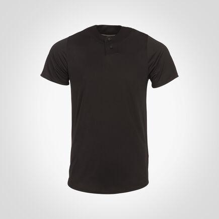 Men's Dri-Power® Solid Baseball Jersey BLACK