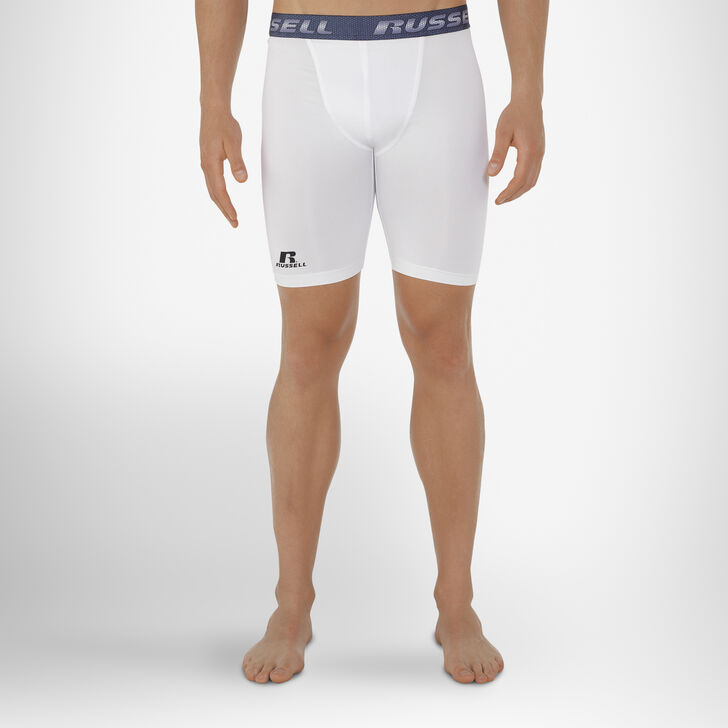 Men's Dri-Power® Compression Shorts WHITE