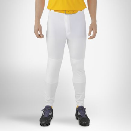 Men's Baseball Game Pants WHITE
