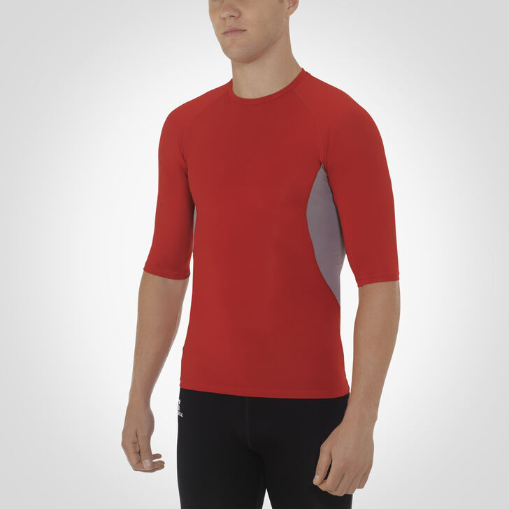 Men's Dri-Power® Half Sleeve Compression Crew