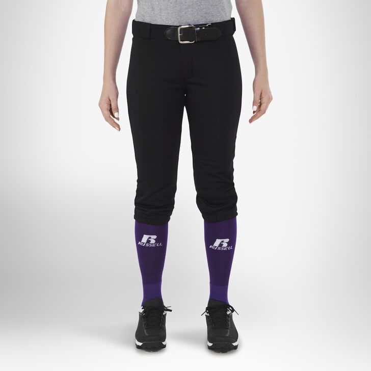 Women's Knicker Softball Pants BLACK