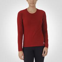 Women's Essential Long Sleeve Tee CARDINAL