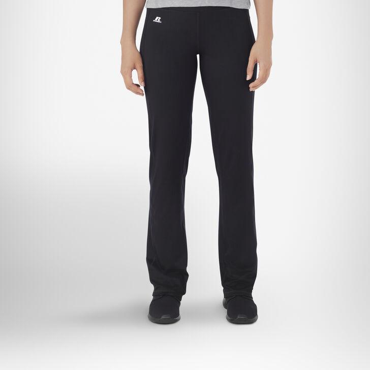 Women's Performance Bootcut Yoga Pants BLACK