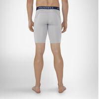 Men's Dri-Power® Compression Shorts GRIDIRON SILVER