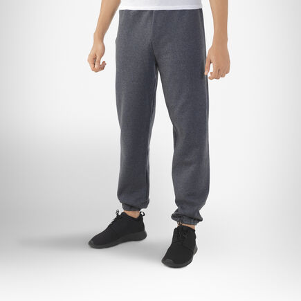 Men's Dri-Power® Closed-Bottom Sweatpants BLACK HEATHER