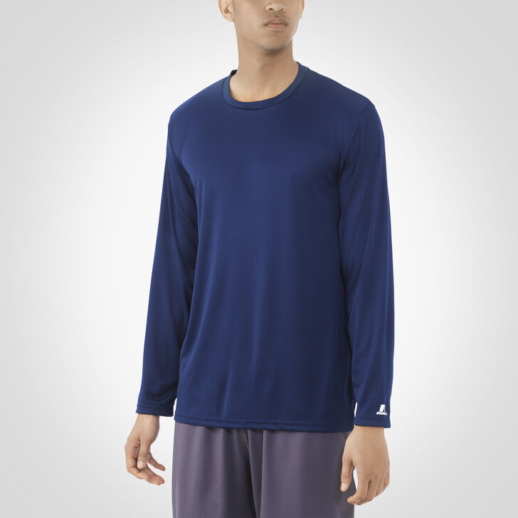 Men's Dri-Power® Core Performance Long Sleeve Tee NAVY