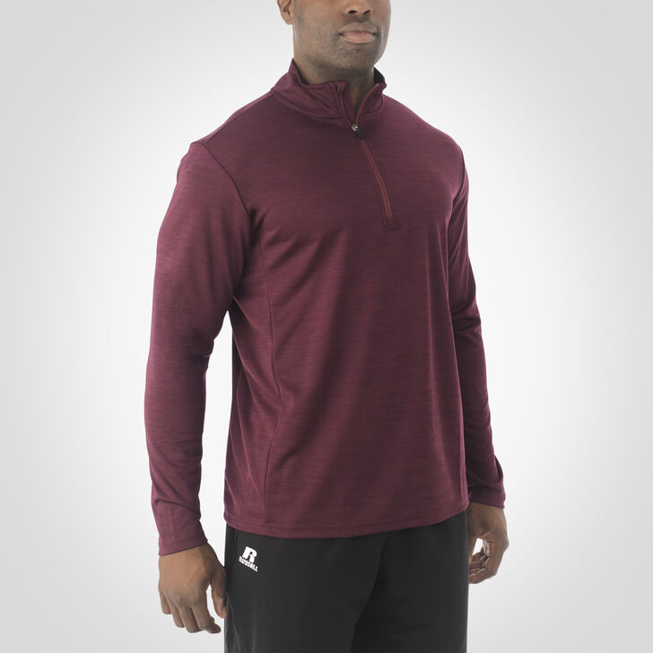 Men's Dri-Power® Lightweight 1/4 Zip Pullover MAROON