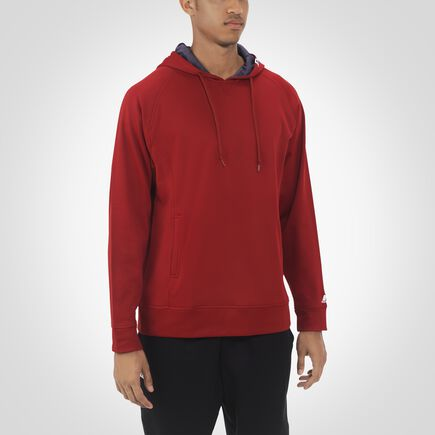 Men's Dri-Power® Tech Fleece Hoodie CARDINAL/STEALTH