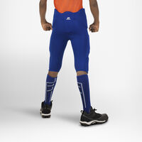 Youth Integrated 7-Piece-Pad Football Pants ROYAL