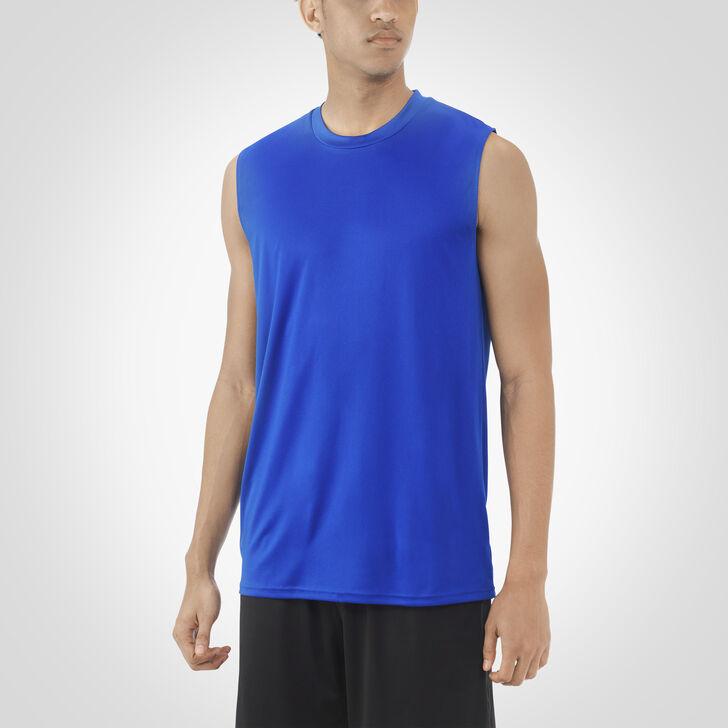 Men's Dri-Power® Core Performance Sleeveless Tee ROYAL