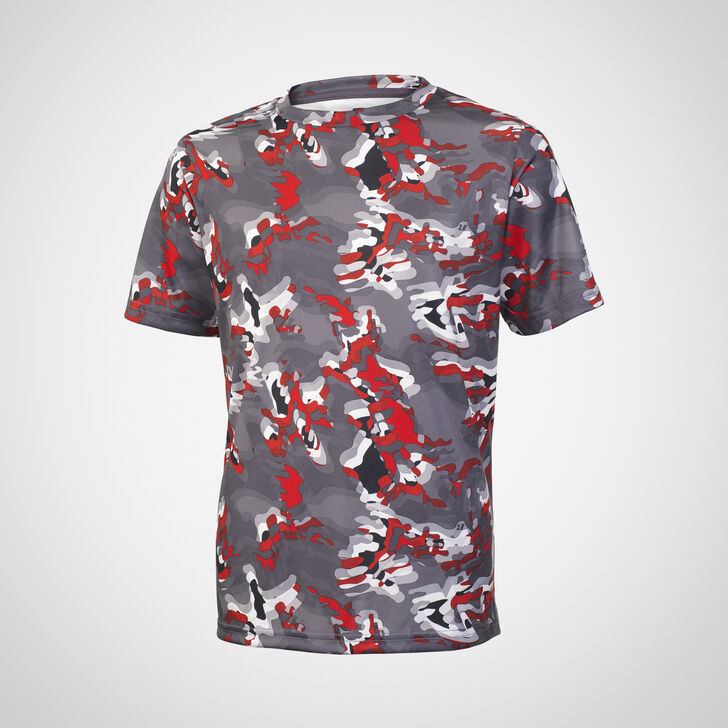 Youth Dri-Power® Camokaze Performance Tee TRUE RED CAMO-KAZE