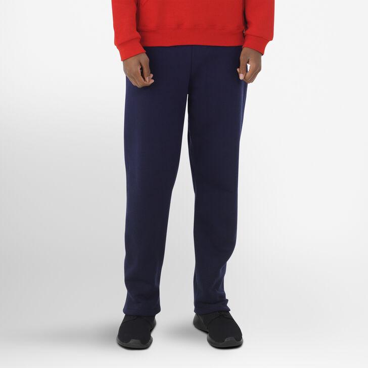 Youth Dri-Power® Open-Bottom Pocket Sweatpants J.NAVY