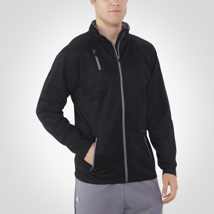Men's Dri-Power® Tech Fleece Full-Zip Jacket BLACK/STEEL