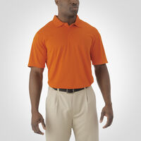 Men's Dri-Power® Essential Short Sleeve Polo BURNT ORANGE