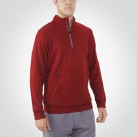 Men's Dri-Power® Tech Fleece 1/4 Zip Pullover CARDINAL