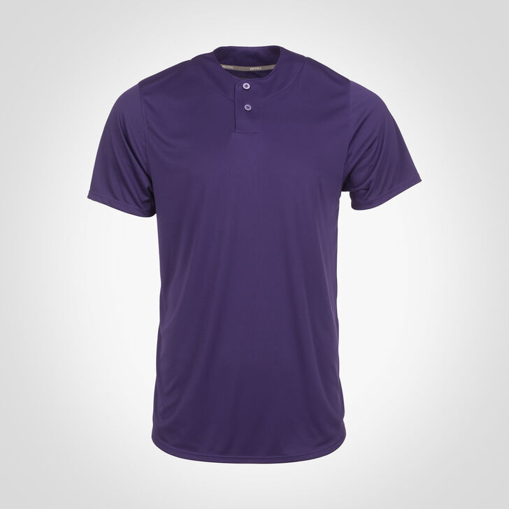 Men's Dri-Power® Solid Baseball Jersey PURPLE
