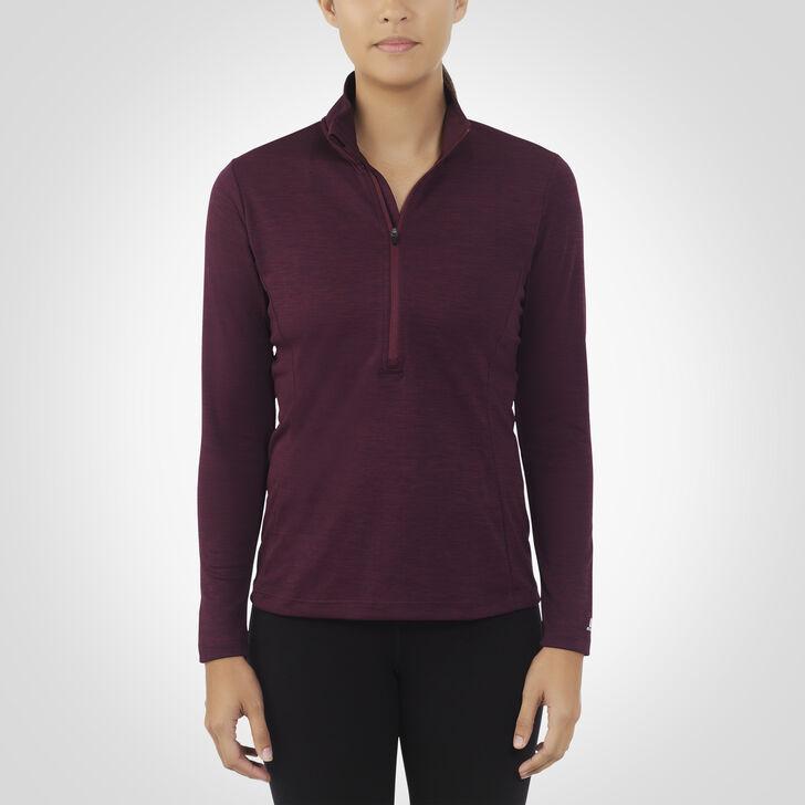 Women's Dri-Power® Lightweight 1/4 Zip Pullover MAROON