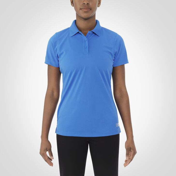 Women's Dri-Power® Short Sleeve Essential Polo COLLEGIATE BLUE