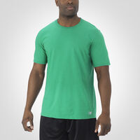 Men's Essential Tee RETRO HEATHER GREEN