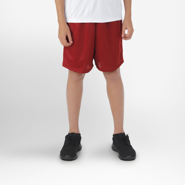 Youth Dri-Power® Mesh Shorts CARDINAL