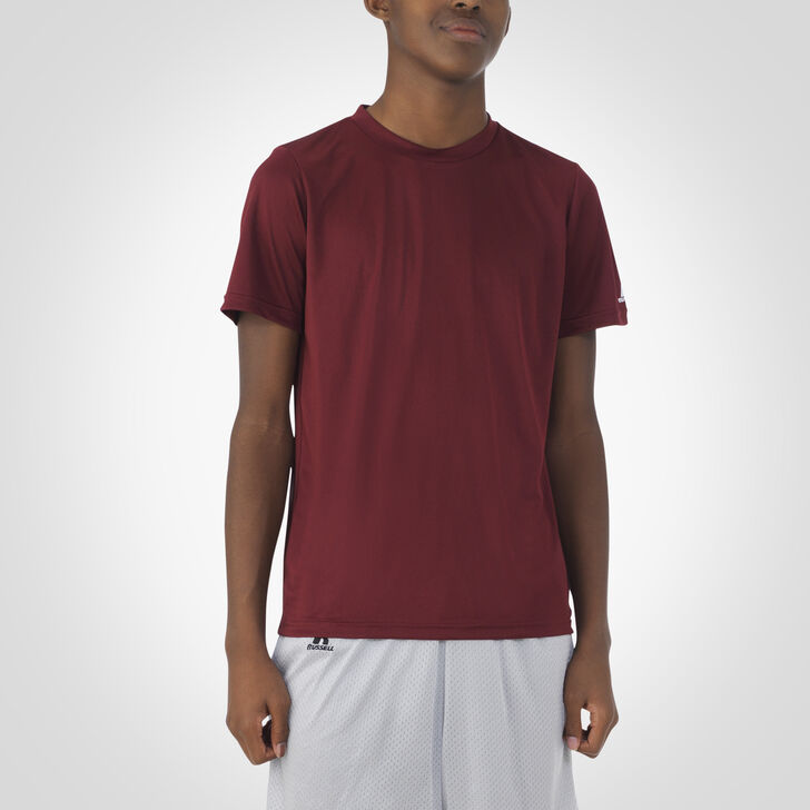 Youth Dri-Power® Core Performance Tee MAROON