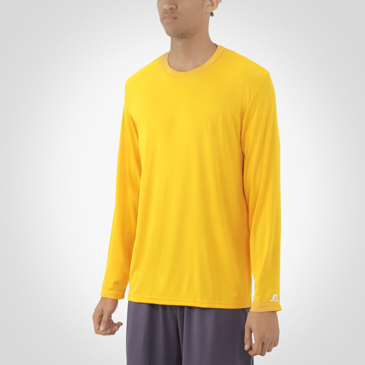 Men's Dri-Power® Core Performance Long Sleeve Tee GOLD