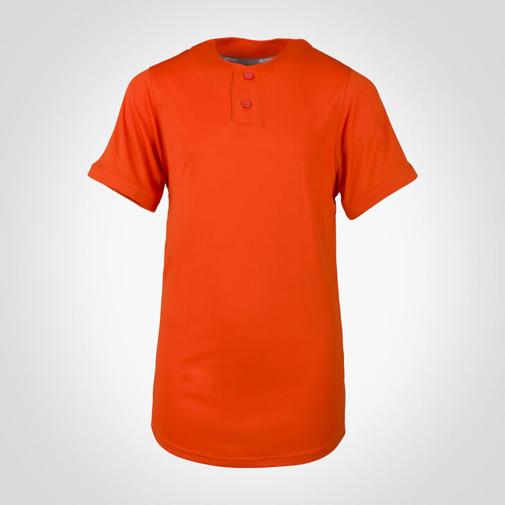 Youth Dri-Power® Solid Baseball Jersey BURNT ORANGE