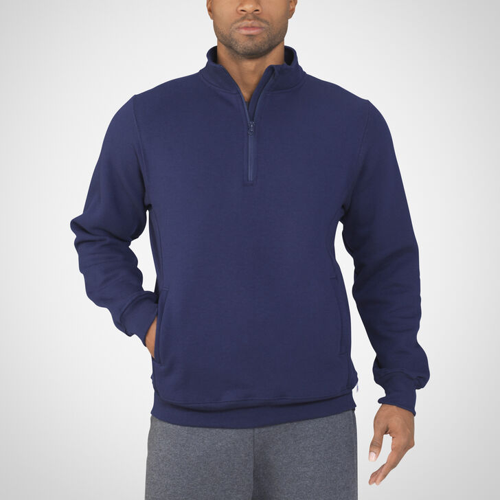 Men's Dri-Power® Fleece 1/4 Zip Pullover J.NAVY