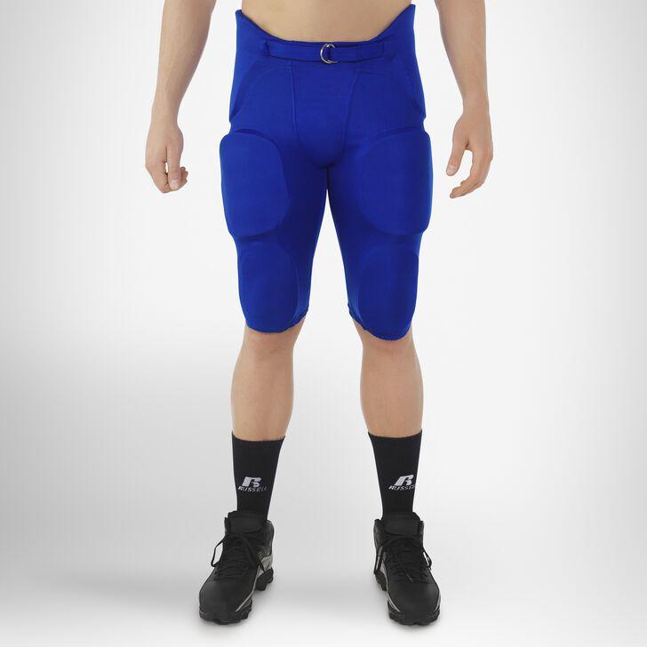 Men's Integrated 7-Piece-Pad Football Pants ROYAL