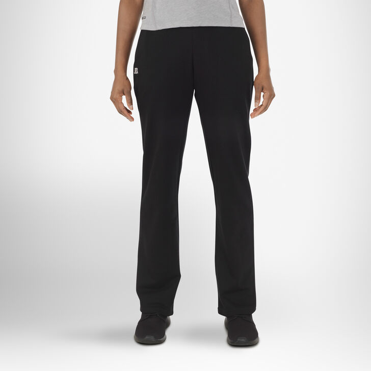 Women's Fleece Sweatpants BLACK