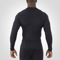 Men's Dri-Power® Tight-Fit Cold Weather Long Sleeve Crew BLACK