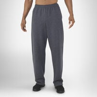 Men's Dri-Power® Open-Bottom Pocket Sweatpants BLACK HEATHER