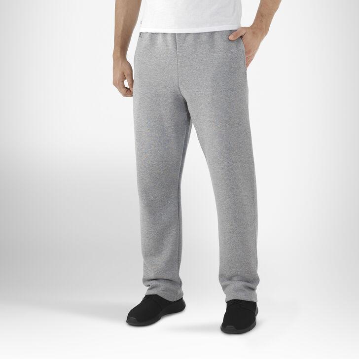 Men's Dri-Power® Open-Bottom Pocket Sweatpants OXFORD