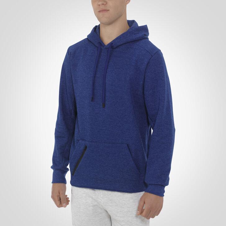 Men's Cotton Rich Fleece Hoodie NAVY HEATHER