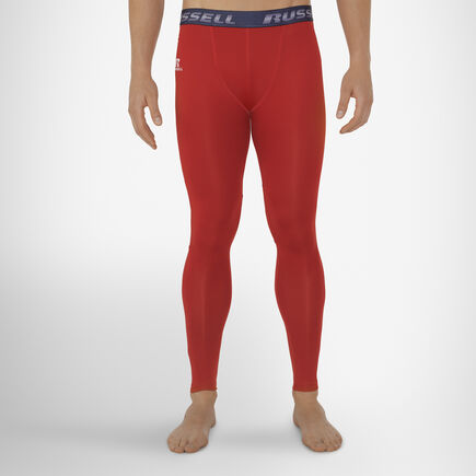 Men's Dri-Power® Compression Tights TRUE RED