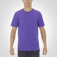 Men's Essential Tee RETRO HEATHER PURPLE