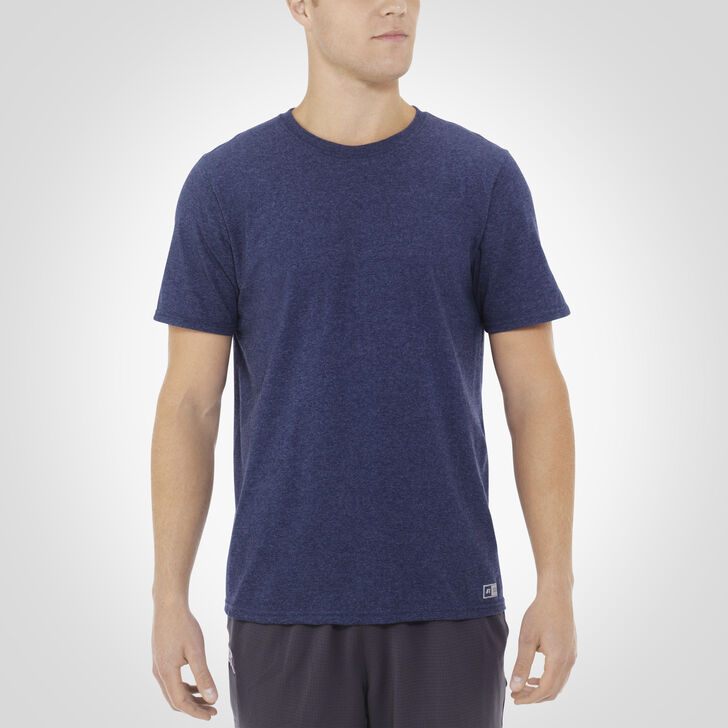 Men's Essential Tee VINTAGE HEATHER NAVY