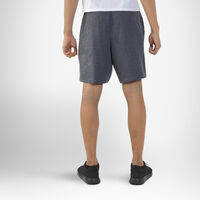Men's Basic Cotton Pocket Shorts BLACK HEATHER