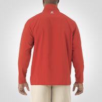 Men's Woven 1/4 Zip Pullover TRUE RED