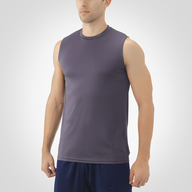 Men's Dri-Power® Core Performance Sleeveless Tee STEALTH
