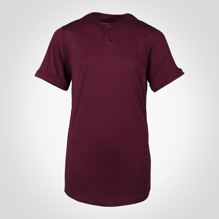 Youth Dri-Power® Solid Baseball Jersey MAROON