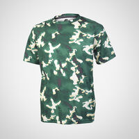 Youth Dri-Power® Camokaze Performance Tee DARK GREEN CAMO-KAZE