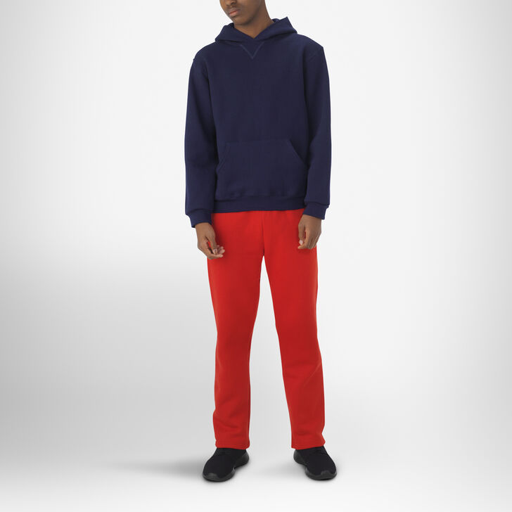 Youth Dri-Power® Open-Bottom Pocket Sweatpants TRUE RED