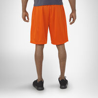 Men's Dri-Power® Mesh Shorts with Pockets BURNT ORANGE