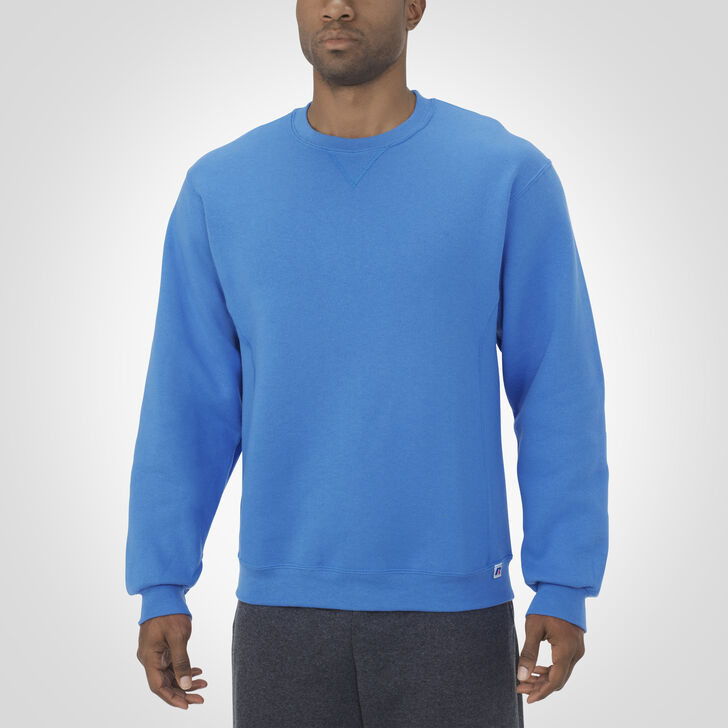 Men's Dri-Power® Fleece Crew Sweatshirt COLLEGIATE BLUE