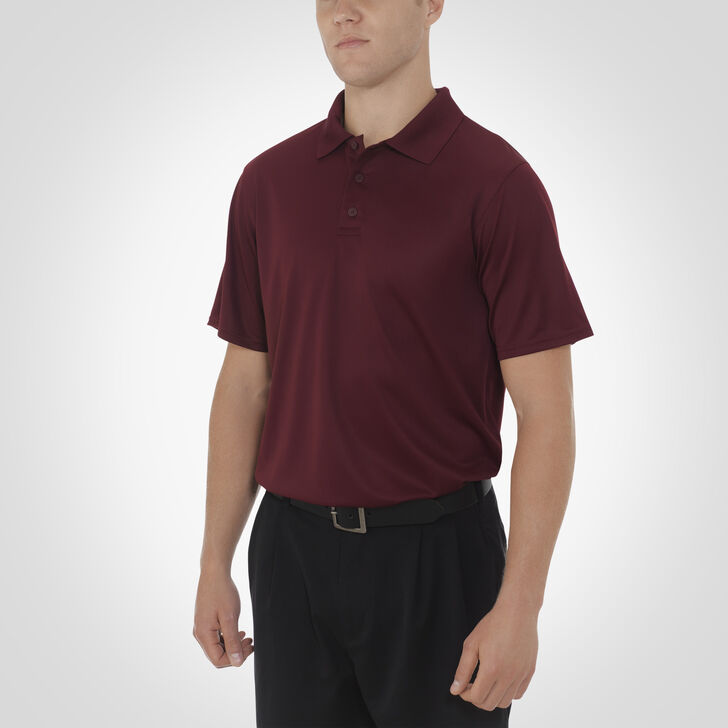 Men's Dri-Power® Essential Short Sleeve Polo MAROON