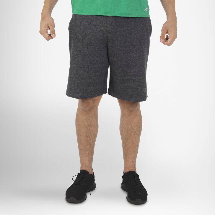 Men's Dri-Power® Fleece Training Shorts with Pockets BLACK HEATHER
