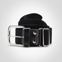 Adult Adjustable Baseball/Softball Belt BLACK
