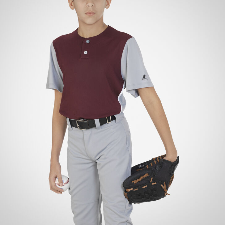 Youth Dri-Power® Colorblock Baseball Jersey